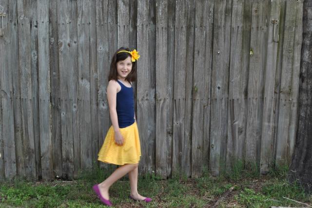 Sweet Pea Circle Skirt 002