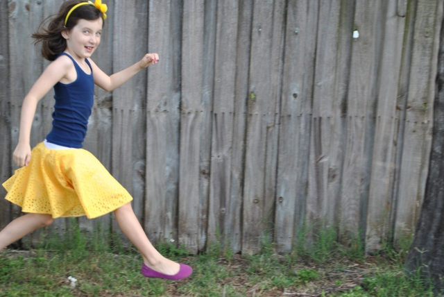 Sweet Pea Circle Skirt 009