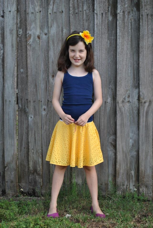 Sweet Pea Circle Skirt 018