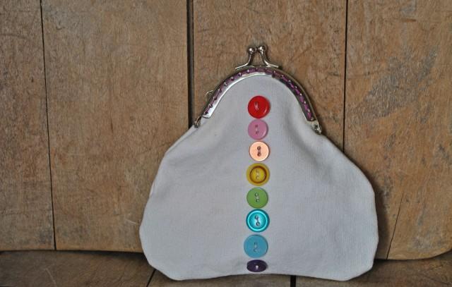 button up coin purse
