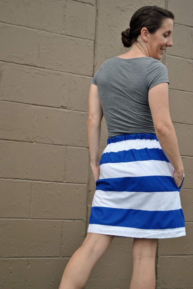 striped skirt 4