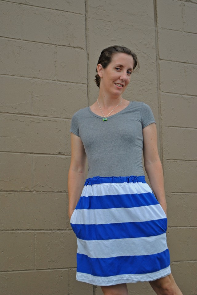 striped skirt 5